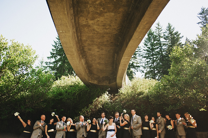 Portland Oregon Wedding Photographer - Wedding Party Formals - World Forestry Center