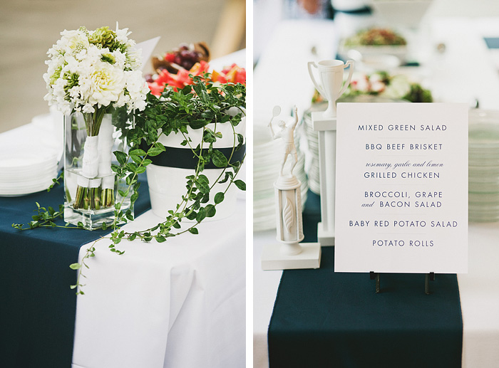 Portland Oregon Wedding Photographer - Food and Flowers - World Forestry Center Reception