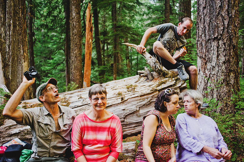 Salem Wedding Photographer - Wedding Party at Opal Creek Ancient Forest