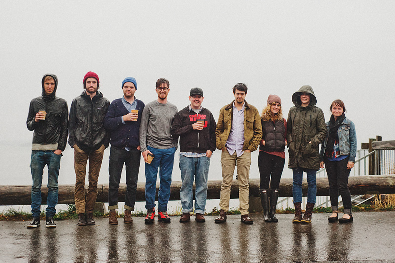 Portland Lifestyle Photographer - San Juan Island Vacation - Group Shot - Not Pictured: Richelle, Caitlin and Amanda
