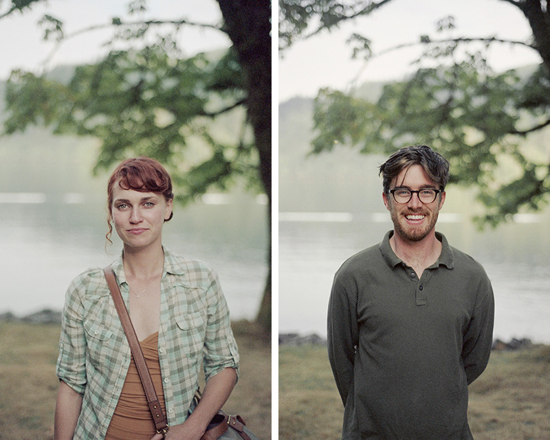 Portland Film Photographer - Portraits of Sarah Jane and Brett - Nikon F100
