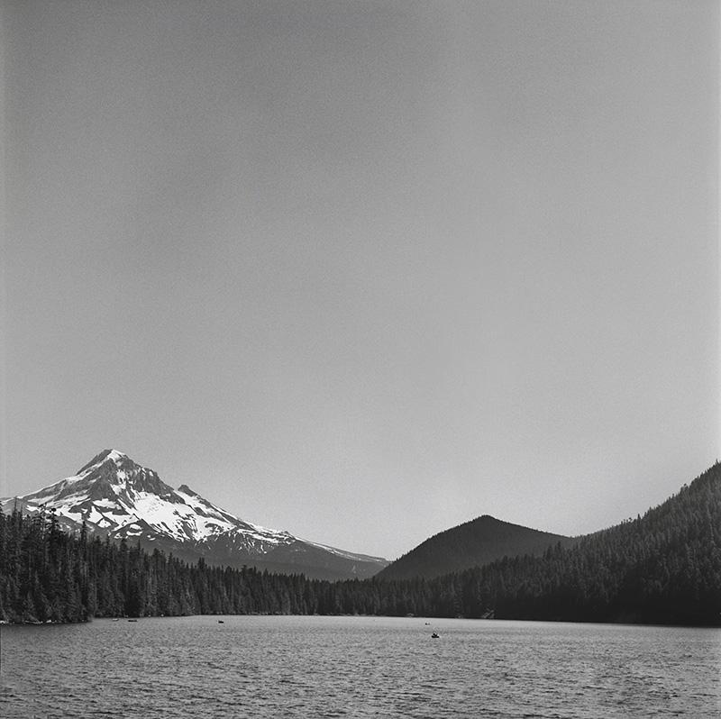 Portland Film Photographer - Mt Hood at Lost Lake - Rolleiflex