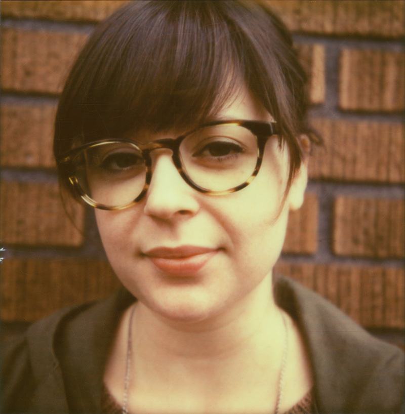 Portland Film Photographer - Polaroid SX70 - Portrait of Kelley at Broder
