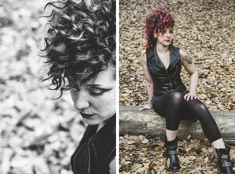 Punk Rock Inspired Styled Shoot in Laurelhurst Park