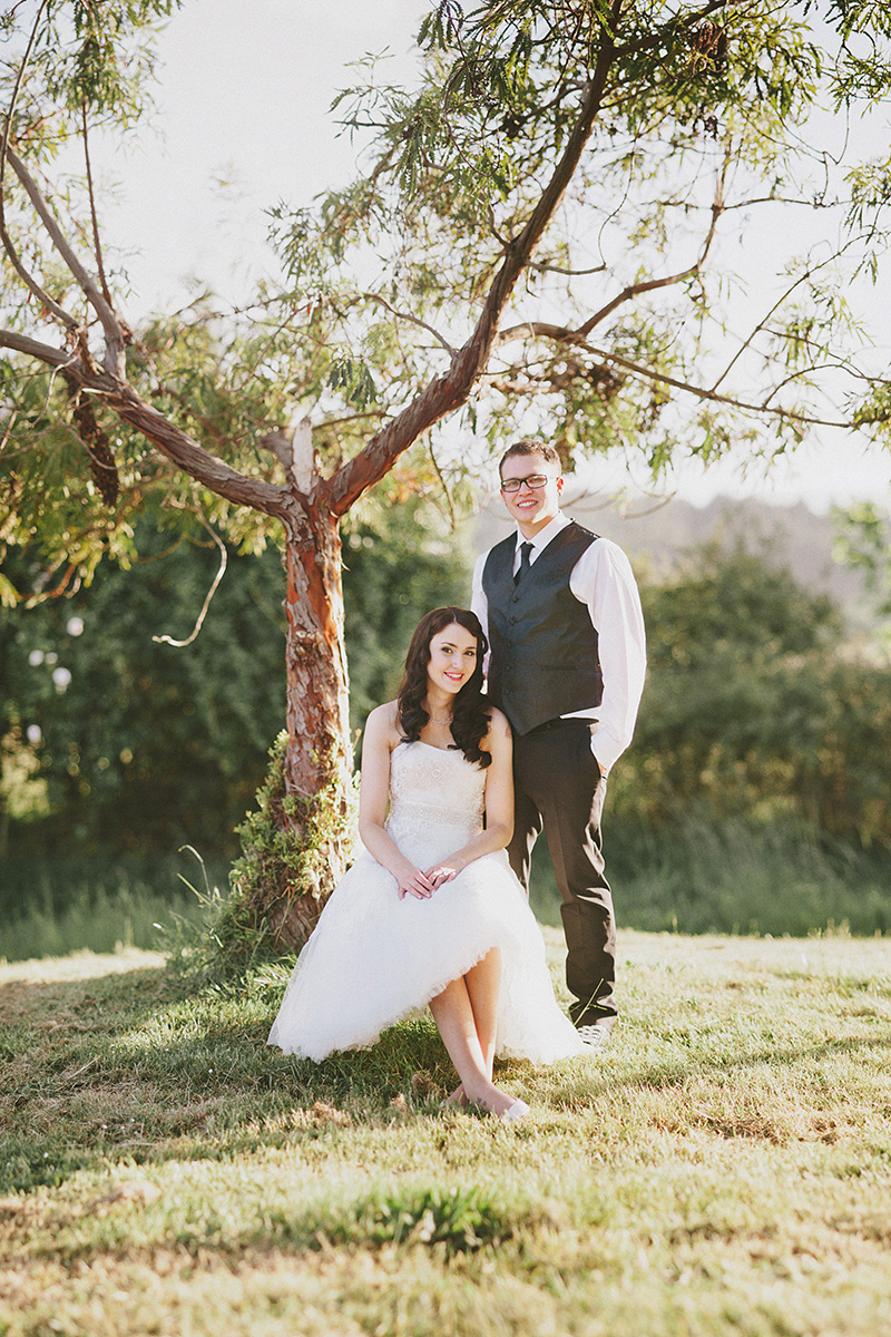 Arcata Wedding Photographer - Portrait of Bride and Groom at the Humboldt Unitarian Universalist Fellowship
