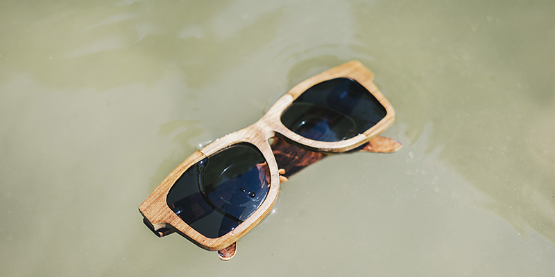Telhart Wooden Sunglasses - Portland Fashion Photographer