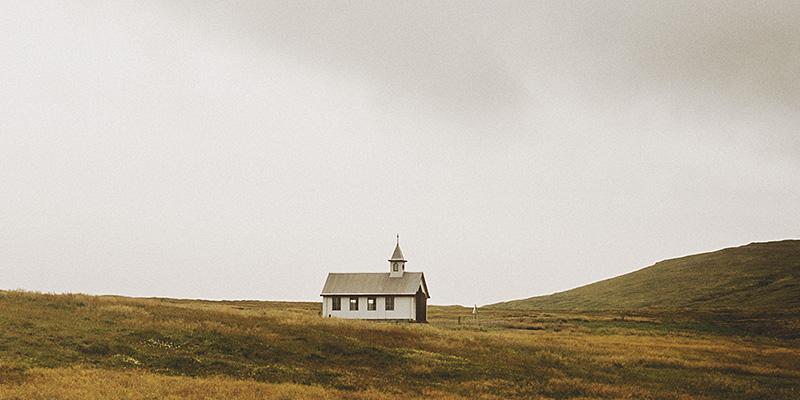 Iceland Wedding Photographer - A church somewhere in Snæfellsnes