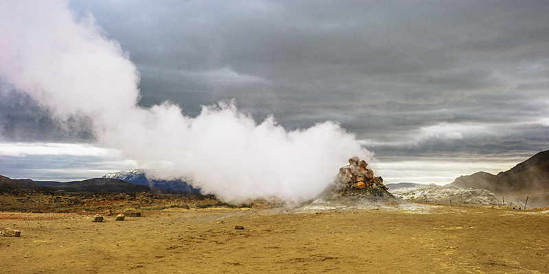 Iceland Wedding Photographer - Geothermal activity in Hverir