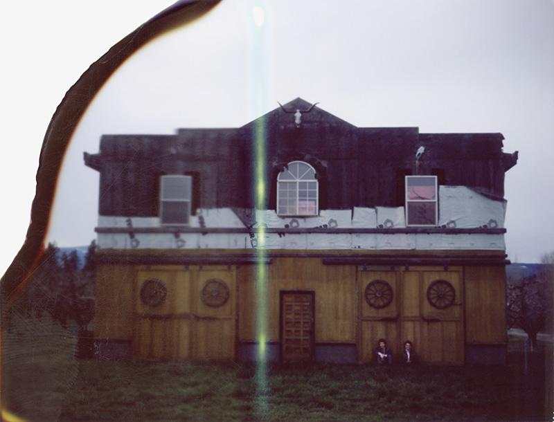 Portland Band Photographer - Grand Lake Islands on Polaroid film