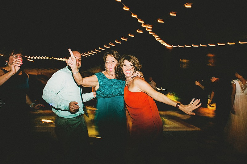 St. Petersburg Wedding Photographs - Guests dancing at the reception in the Vinoy Hotel