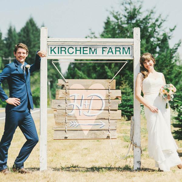 Hannah & David's Kirchen Farm Wedding