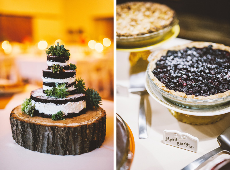New Cascadia Wedding Cake for a Camp Westwind Wedding