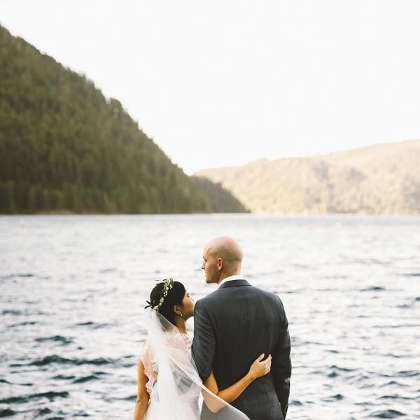 Crystal & Dylan's Nature Bridge Wedding