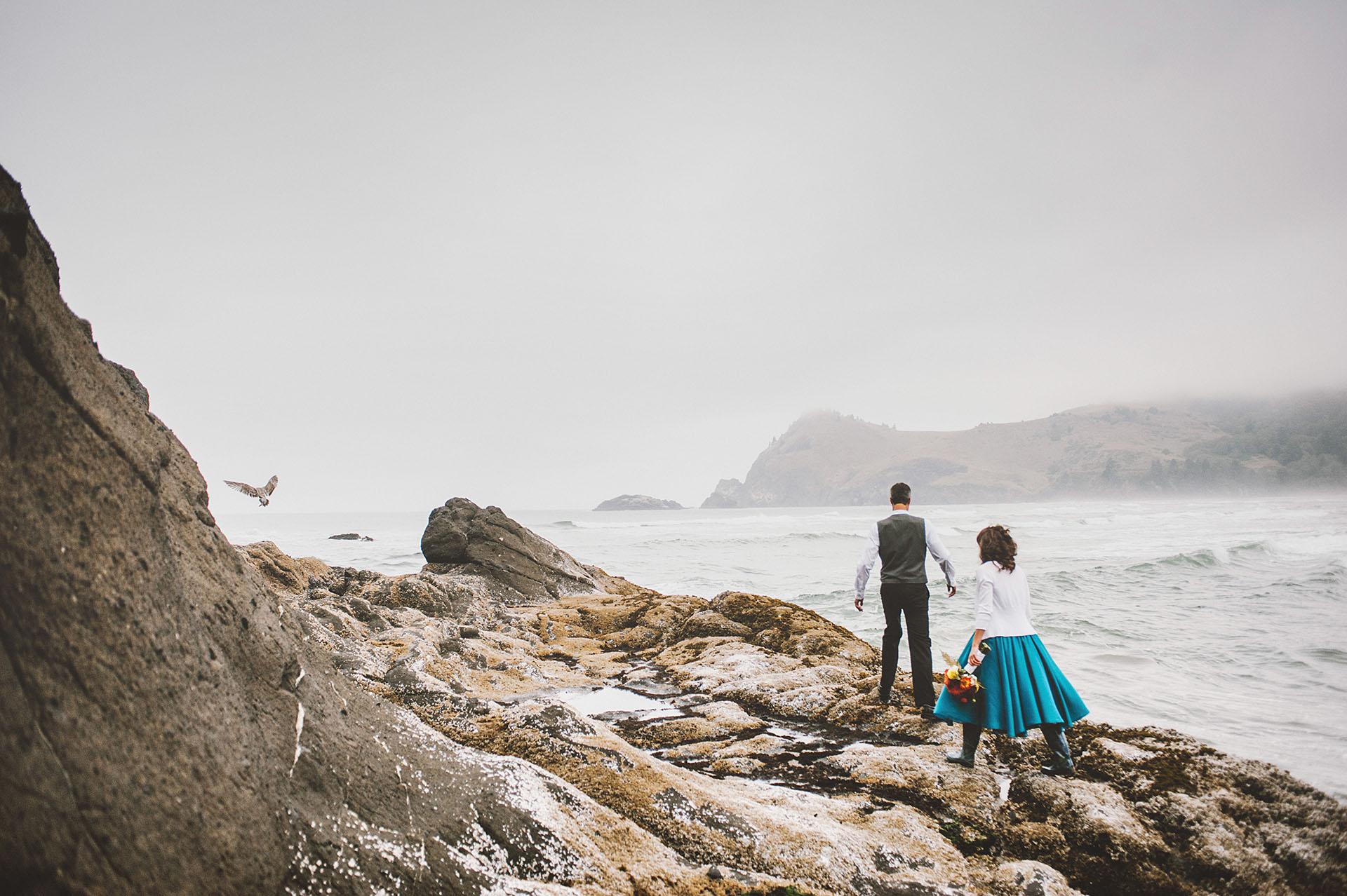 Lara and Nate at Camp Westwind | Portland Wedding Photographer