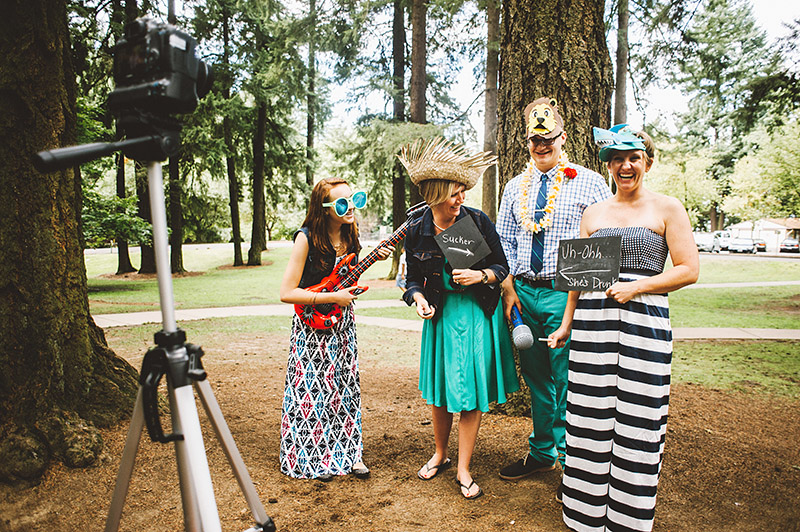 Mount Tabor Wedding DIY Photo Booth