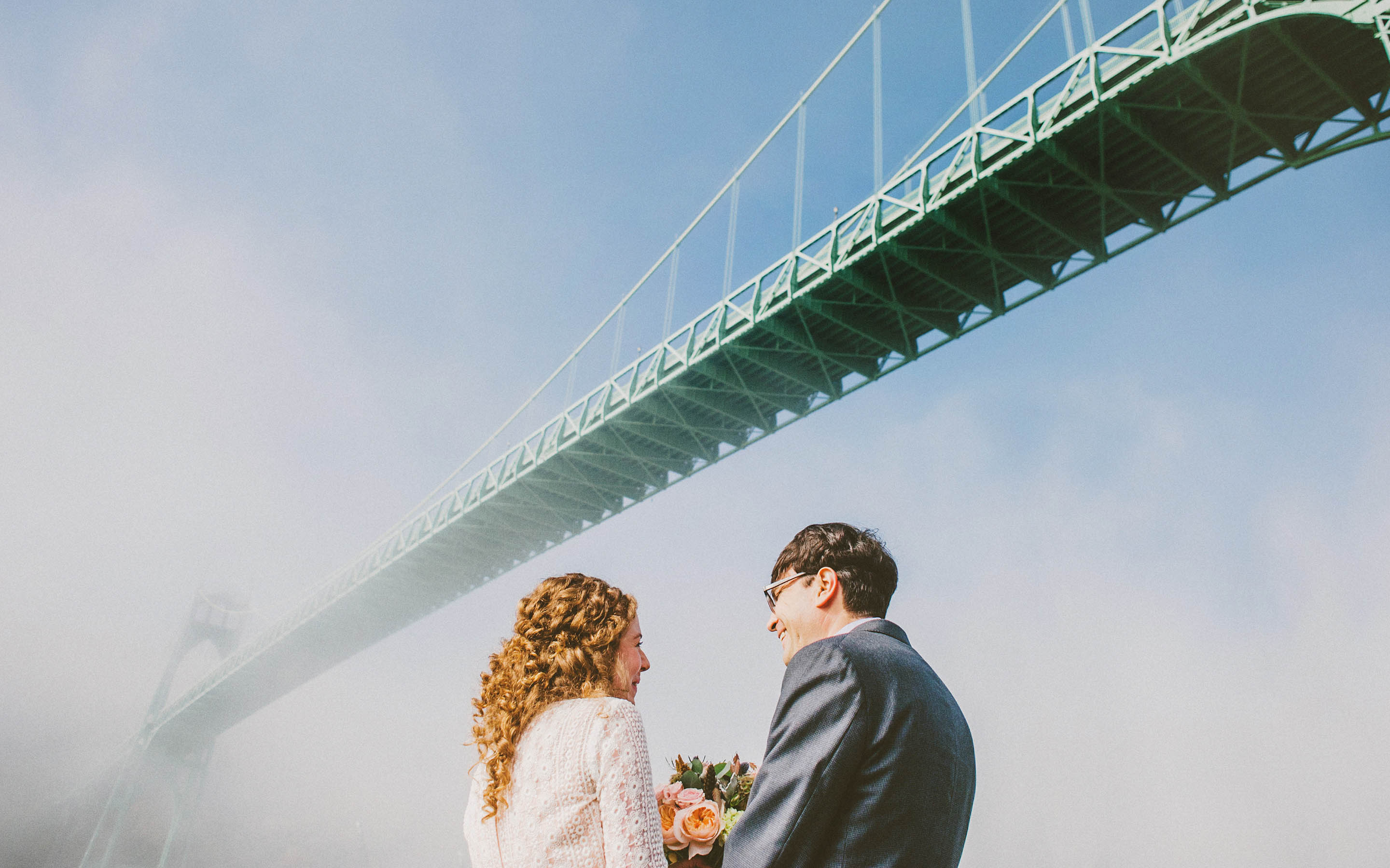 Portland Wedding Photographer | Eleanor & Max at Cathedral Park