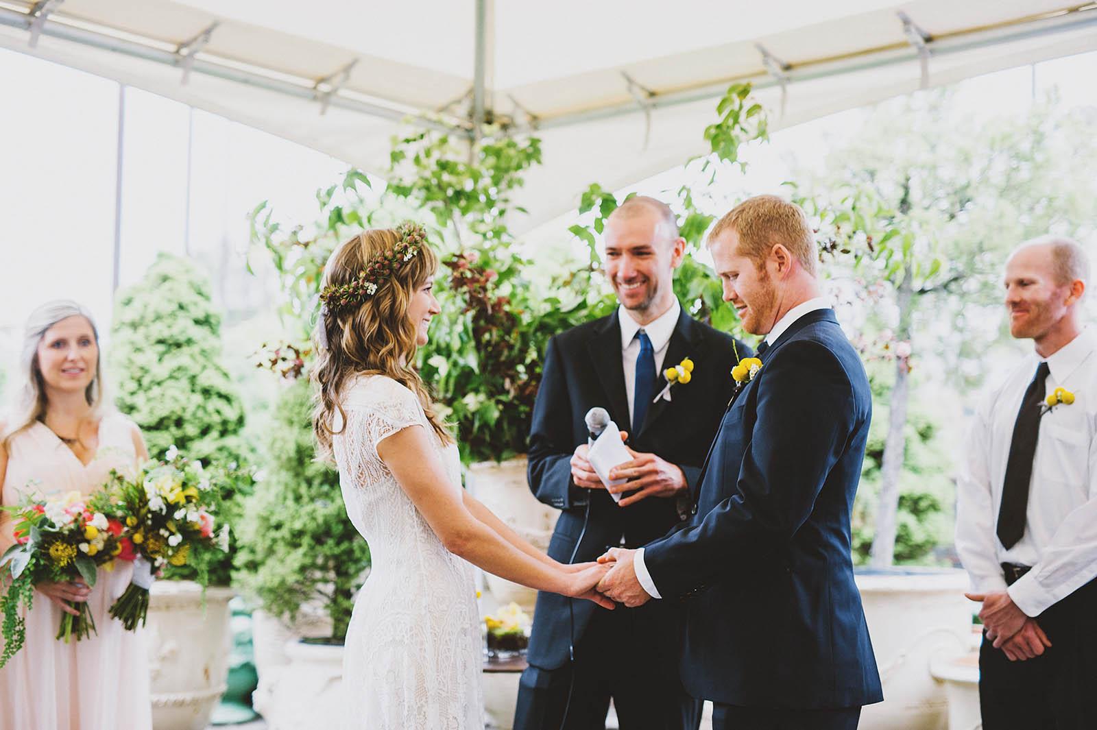 Bride and Groom at their Castaway Portland Wedding Reception