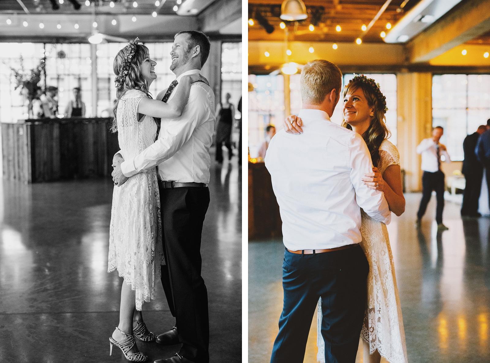 First Dance | Castaway Portland Wedding