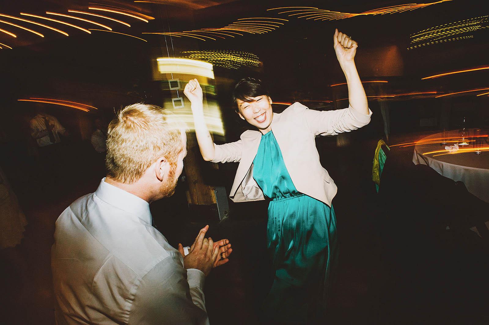 Dancy Party | Castaway Portland Wedding