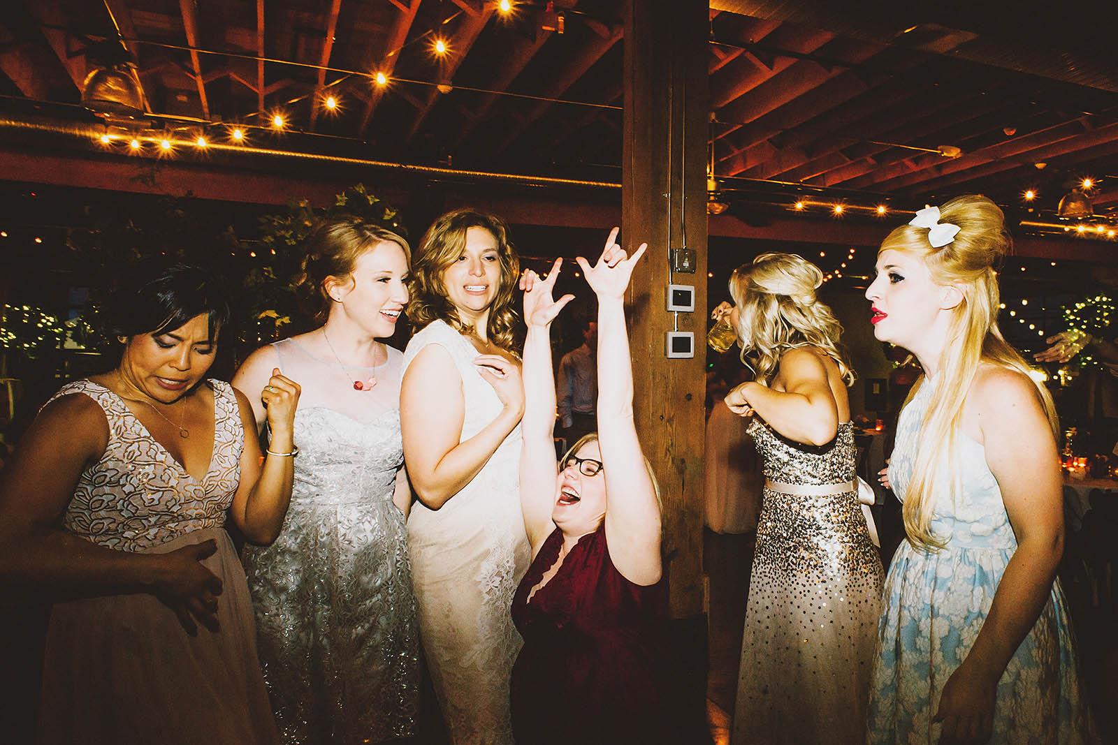 Dance Party | Castaway Portland Wedding