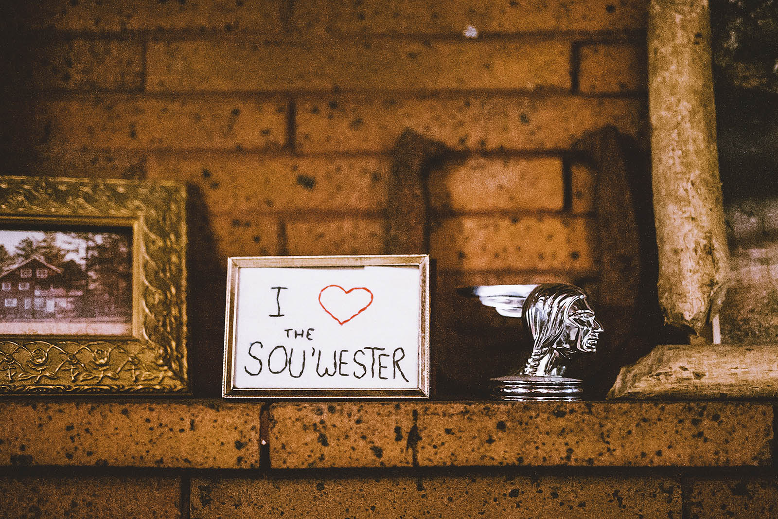I Heart SouWester Embroidery | SouWester Lodge Wedding