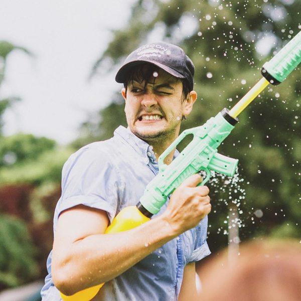 Fifth Annual Portland Water Gun Fight