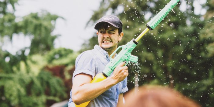 Fifth Annual Portland Water Gun Fight