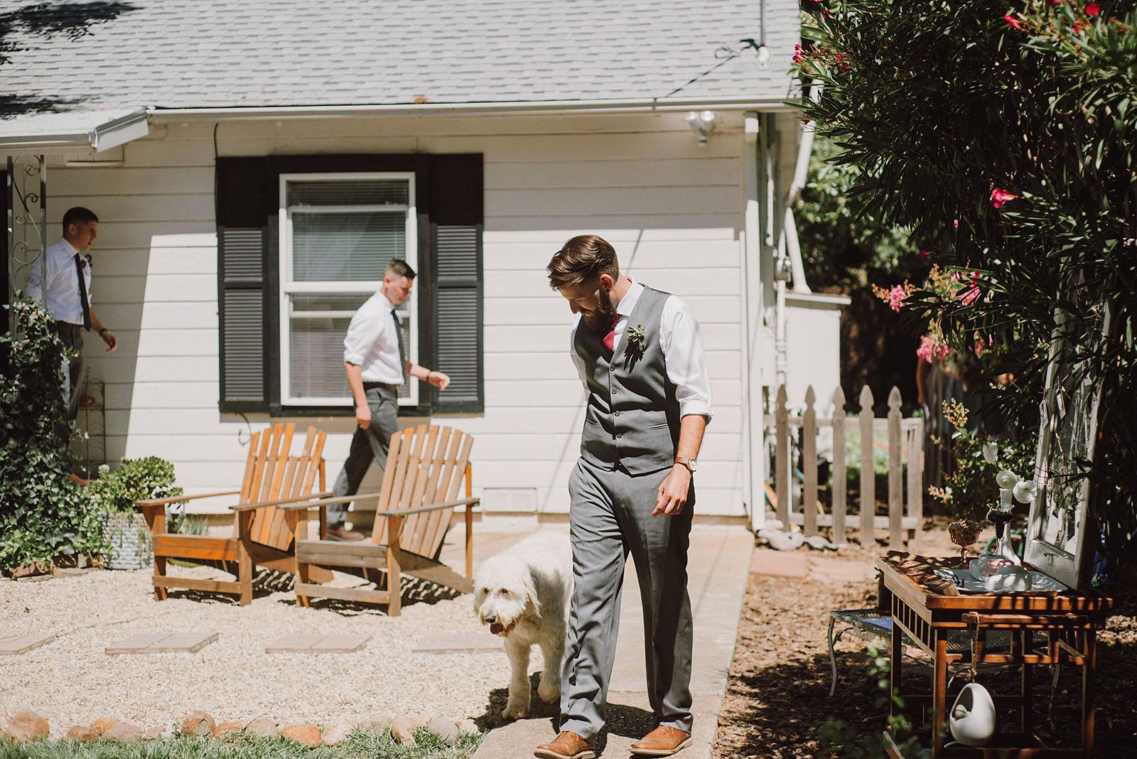 jens u0026 anthony u0027s backyard chico california wedding