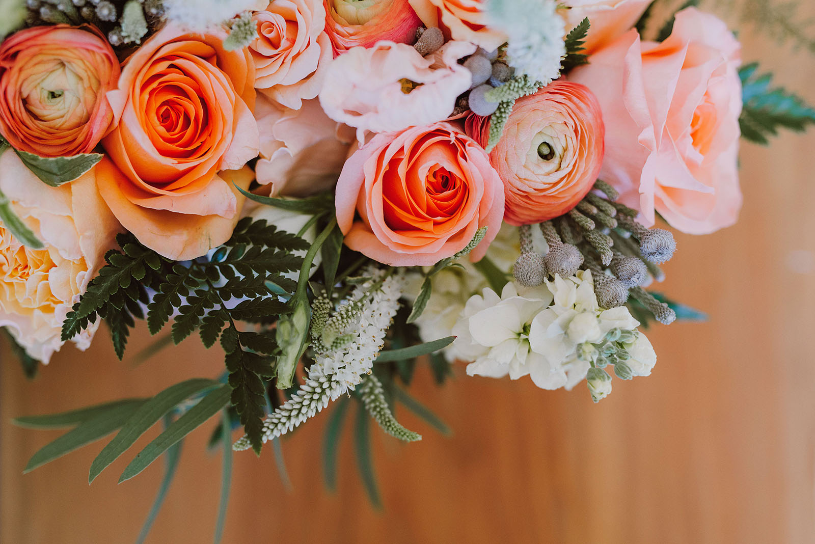 Bride's bouquet | Portland Castaway Wedding