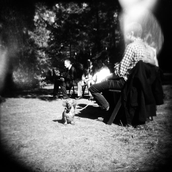 Film Wedding Photographer - Hoyt arboretum wedding