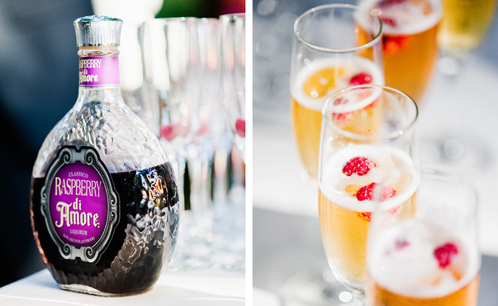 Champagne and Liquer - Bridal Veil Lakes Wedding - Portland Oregon
