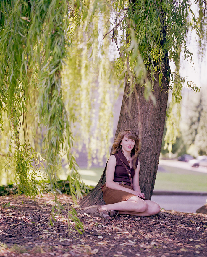 Cathedral Park - Mamiya RZ67 - medium format portrait - Portland portrait photographer