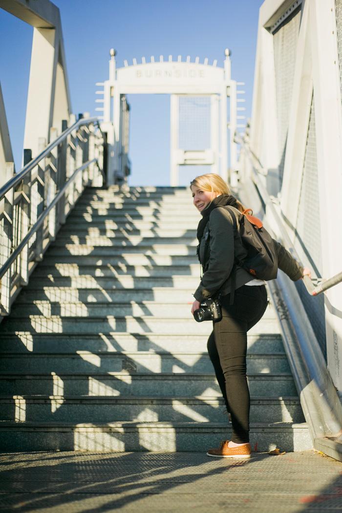 Portland Burnside Bridge - Portland lifestyle