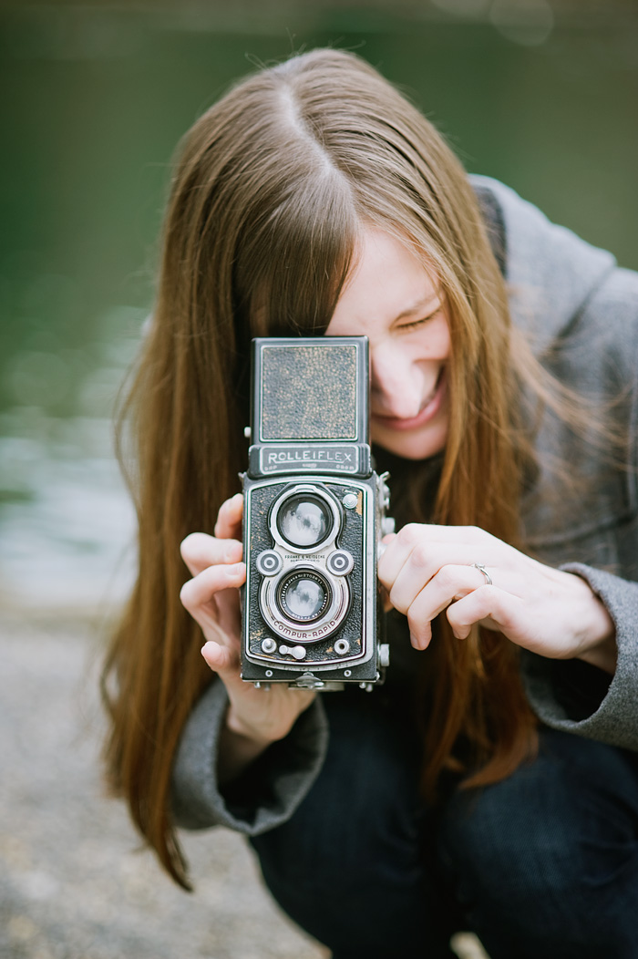 Portland Oregon Portrait Photographer - Rolleiflex