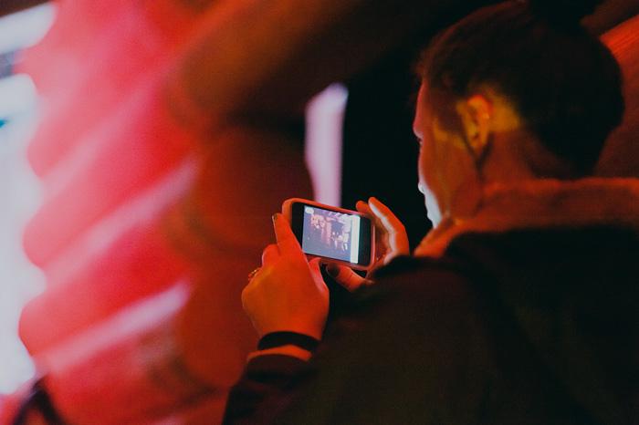 Doug Fir Lounge - Girl with iPhone