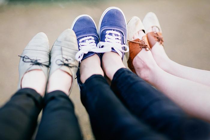 Women's Shoes - Portland, OR - Bokeh Panorama - Brenizer Method