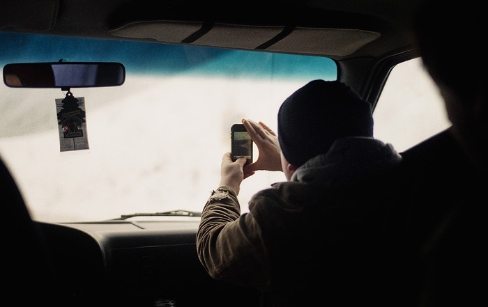 Instagram on a Road Trip
