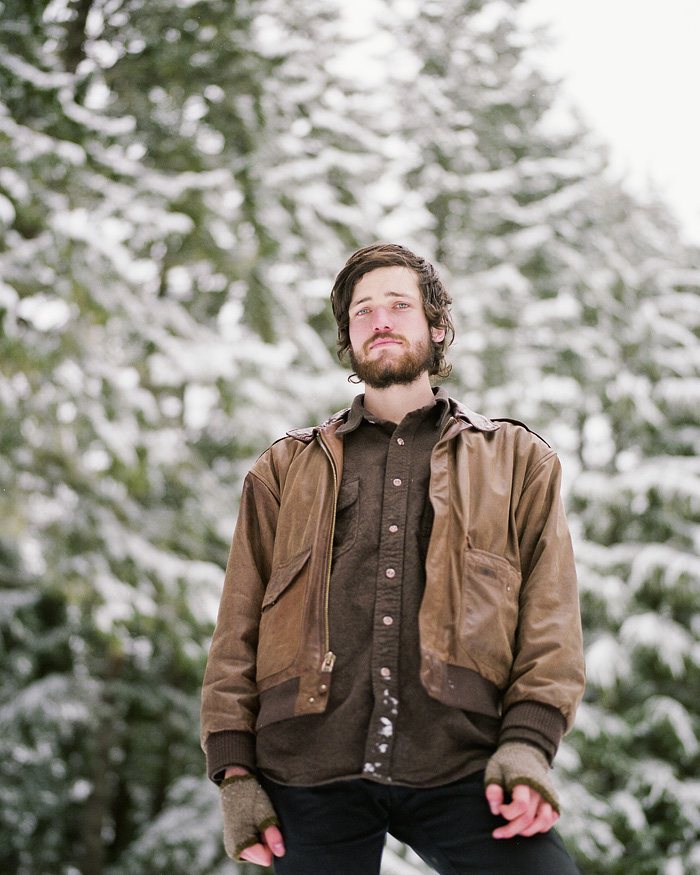 Portrait of Mark Robertson - Harlowe and the Great North Woods - Mamiya RZ67