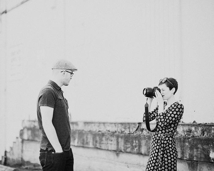 Jade Sheldon Photographing Her Fiance
