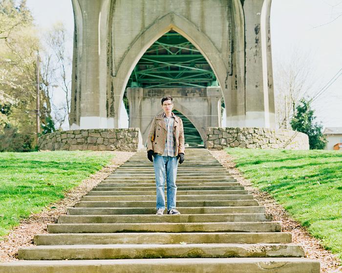 Alan at Cathedral Park - Portland Portrait Photographer