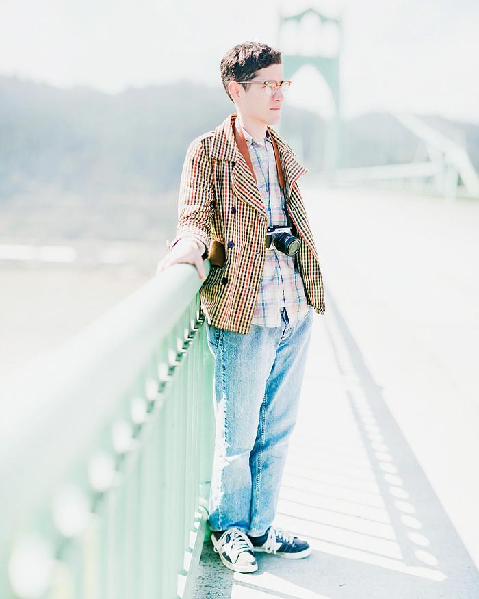 Portland Portrait Photographer - St. John's Bridge