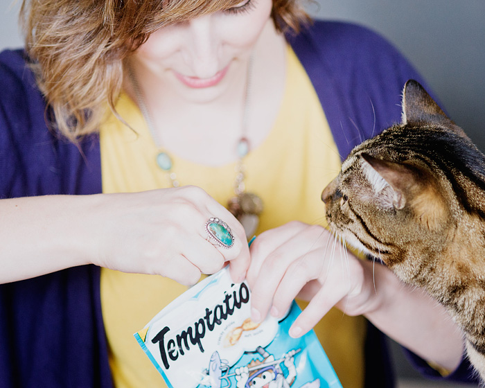 Bribing the Cat with Treats