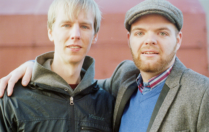 Chris and Kyle - Green Hills Alone - 35mm Film Portrait