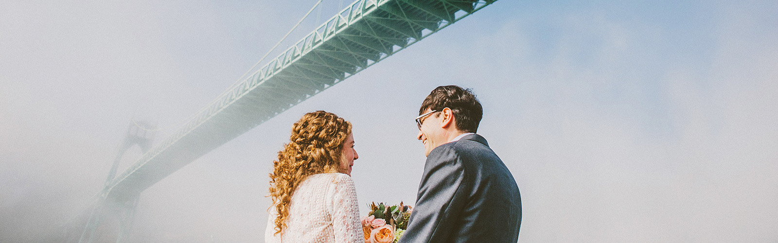Portland wedding photographer reviews - Eleanor and Max's Cathedral Park Wedding
