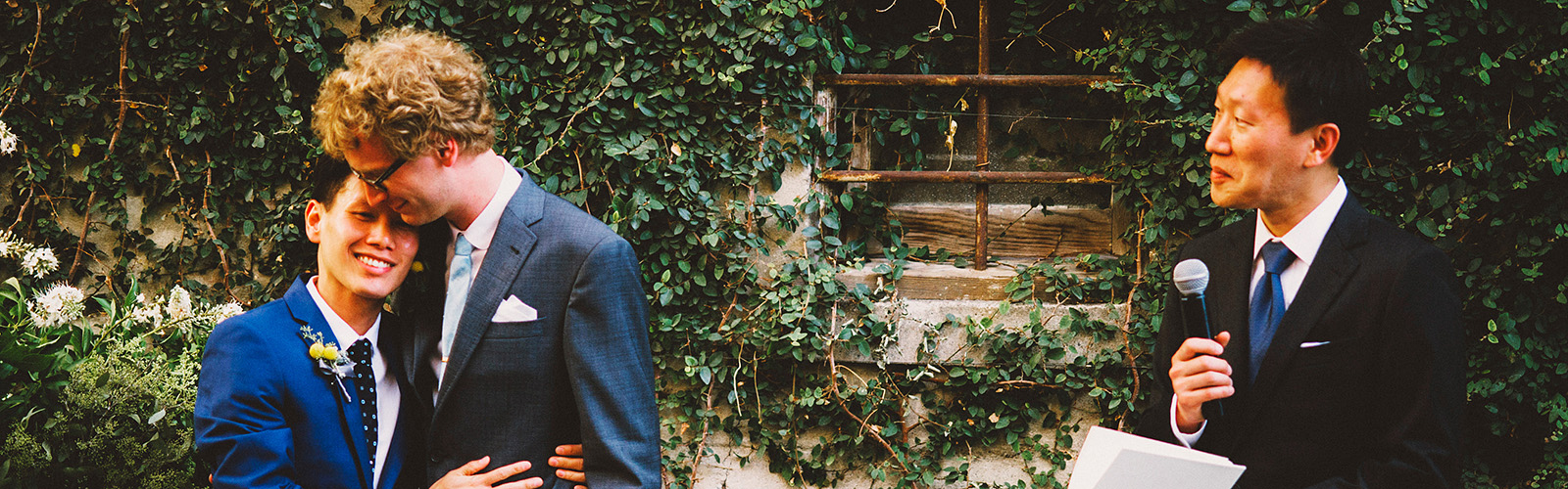 Portland wedding photographer reviews - Hung and Adrian's San Francisco Gay Wedding