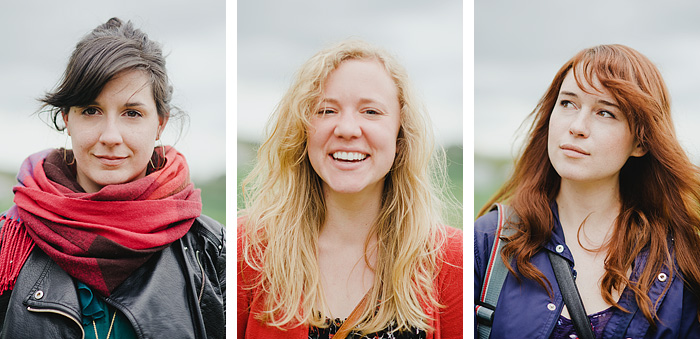 Headshot Triptych - Portland Portrait Photographer
