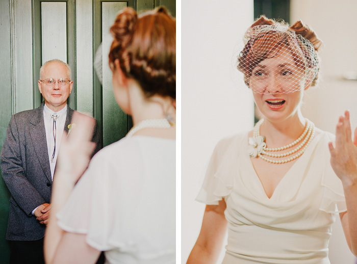 Sellwood Wedding Photographer - Teary eyed Father of the Bride