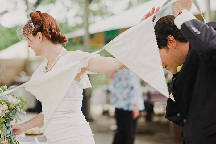 Oaks Amusement Park Wedding Reception