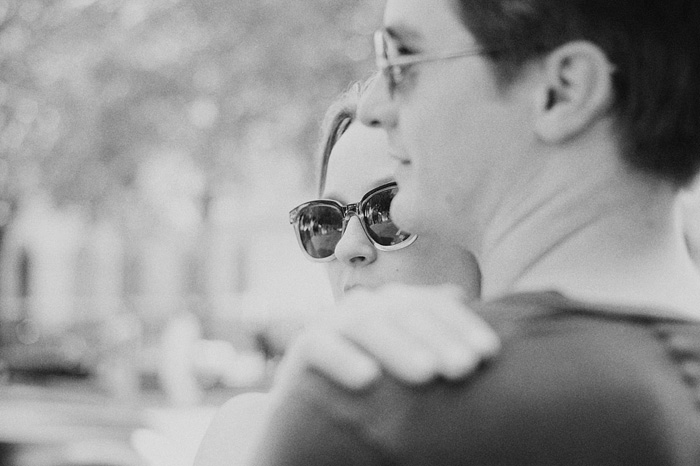 Portland portrait Photographer - Couple wearing sunglasses
