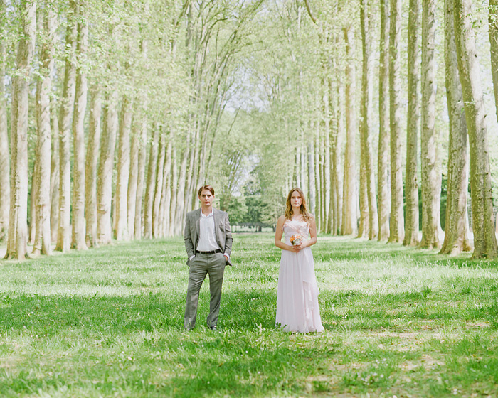 Paris Elopement Photographer - Newlyweds in the Gardens of Versailles